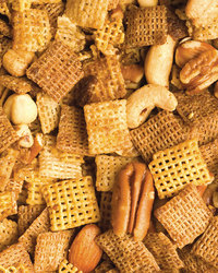 Gluten-Free Chex and Mixed Nuts Clusters