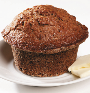 Slightly Sweet Oat Bran Muffins
