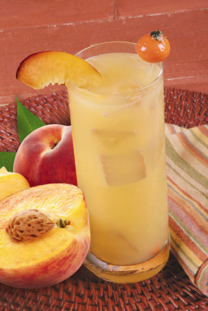 Refreshing Peach Coolers